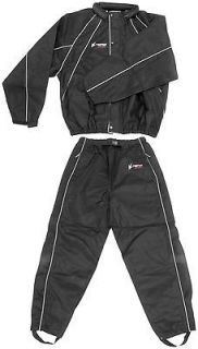 FROGG TOGGS HOGG TOGG MOTORCYCLE HARLEY RAIN SUIT BLACK XL X LARGE BMW