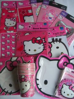 HELLO KITTY PARTY RANGE {Gemma}{fixed £1 UK p&p}