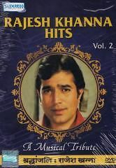 RAJESH KHANNA HITS: VOL. 2   BOLLYWOOD SONGS DVD