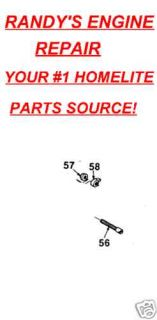 PART HOMELITE 350 360 BAR chain tensioner assembly