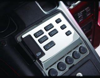 HONDA MOTORCYCLE GL1500 GOLDWING Chrome Radio Panel Accent