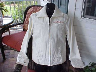 harley davidson white jacket in Clothing,