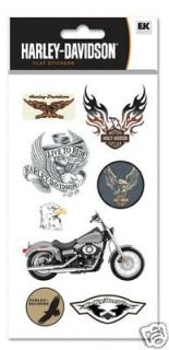 100 Harley Davidson Motorcycle Biker Decals Stickers Collection Set