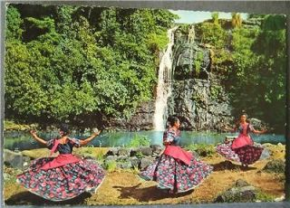 PHILIPPINES BINASUAN NATIVE DANCE LADY COSTUME POSTCARD