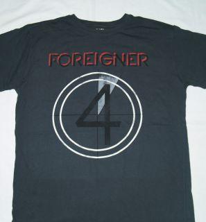 FOREIGNER   1978 World Tour T SHIRT S M L XL 2XL Brand New Official T