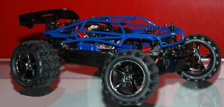 TRAXXAS 1/16 E Revo Powder Coated Blue Roll Cage 7107