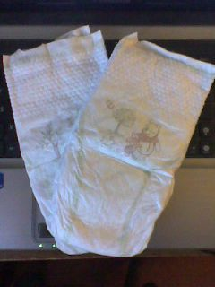 Huggies Pure & Natural size 4 disposable diapers. ABDL / Adult Baby