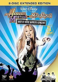 Hannah Montana & Miley Cyrus Best of Both Worlds Concert (DVD, 2008