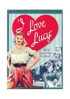 Love Lucy   The Complete Fifth Season DVD, 2005, 4 Disc Set
