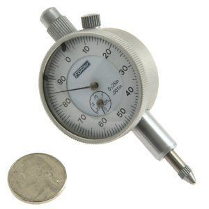 25/0.001 MICRO DIAL INDICATOR GAGE GAUGE AGD LUG Precision Mini