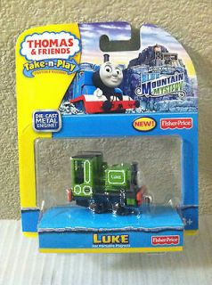 Thomas the Tank Take N Play Luke from Blue Mountain Mystery Brand NEW