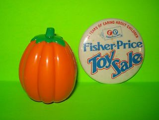 FISHER PRICE Little People THANKSGIVING CELEBRATION PUMPKIN NEW