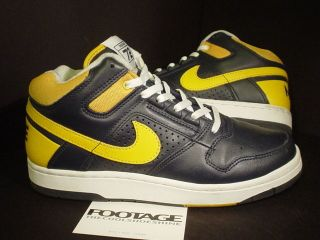 03 Nike Air Delta Force 1 3/4 INDIANA PACERS REWIND 72 NAVY BLUE DEL