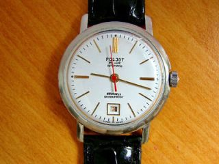 POLJOT DE LUXE Russian Soviet watch AUTOMATIC with new