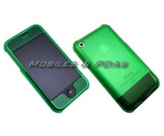 GREEN HARD COVER SHELL CASE for AT&T Apple iPhone 1st Generation
