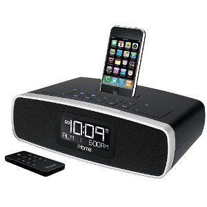 iHome iP92BZ Dual Alarm Clock Radio for iPod (Black) NEW