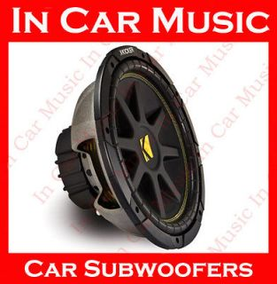 Comp 12 inches Car Audio Subwoofer 4 ohms 300 watts Bass Speaker