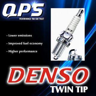 Denso Twin Tip Spark Plug/s for Isuzu V Cross 3.5 i V 6 24V, 03/97
