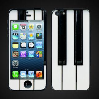 iphone 5 vinyl Skins Kit   Piano Keys #2 Piano Players 88 keys