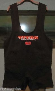 Titan Super Centurion Squat Suit 50 Black Sumo Style NEW (Save 32 bux