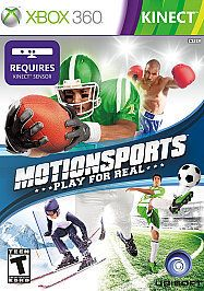 newly listed motionsports xbox 360 2010 kinect like new great