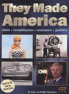 They Made America DVD, 2004, 2 Disc Set