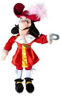 Disney Jake and the Neverland Pirates CAPTAIN HOOK Large Stuffed Plush