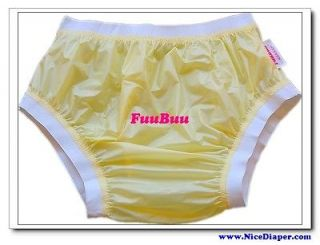 plastic pants yellow in Incontinence Aids