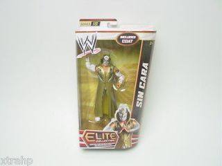 IN STOCK WWE Sin Cara Elite Series 18 Action Figure Mattel Toy With