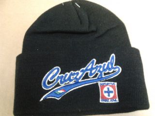 Cementeros Cruz Azul Mexican Soccer Team Winter Hat One Size New