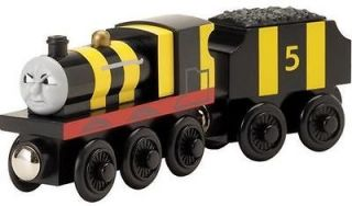 JAMES AS BUSY BEE   Thomas Wooden Tank Bees Train Engine B NEW   USA