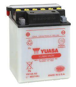 Yuasa Battery YuMicron YB14A A2 Honda ATC200 Big Red 1982 1984