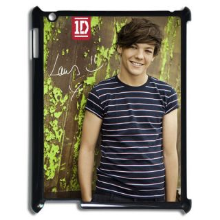 ONE DIRECTION Louis Tomlinson the New iPad 3 Back Hard Case Cover 002