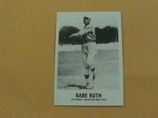 1981 TCMA Renata Galasso #165 BABE RUTH Red Sox