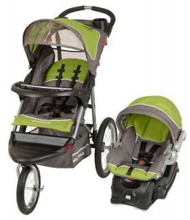 Baby Trend Expedition Jogger Jogging Stroller & Car Seat Travel System
