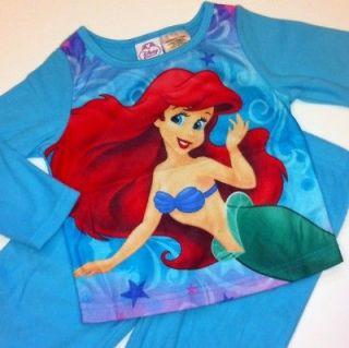 NEW Disney Princess Ariel Mermaid Baby Girls 24 Months 2 pc Pajamas