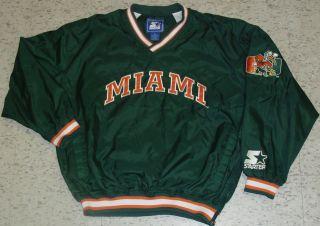 Starter Jacket sz. XL Vintage 90s NCAA Pullover Irvin years