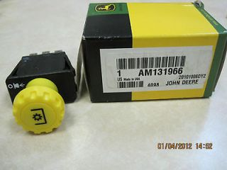 John Deere PTO switch 115, 125, 135, 145, 155C, 190C, L2048, L2548