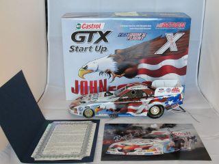 2004 1/16 John Force & Norwalk Raceway Park Freedom Flight Funny Car