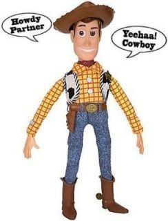 Disney Toy Story 3 Talking Woody Doll figure  16 friend of Jessie