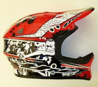 T2 Full Face Composite Cycling Helmet Riot Red Large or Medium