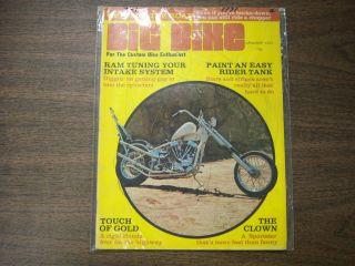 Big Bike Magazine Ram Tuning Your Intake System January 1971 030112R