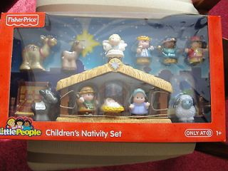 FISHER PRICE LITTLE PEOPLE CHILDRENS NATIVITY SET (LAST ONE)