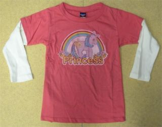 Junk Food My Little Pony Princess 2fer Kids Tee Shirt Infant Toddler