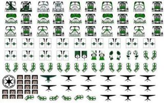 lego star wars 41st elite clone troopers decals green 15