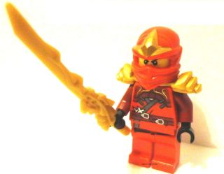 LEGO Ninjago Masters of Spinjitzu Kai ZX W/Fire Dragon Sword