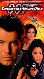 Tomorrow Never Dies VHS, 1998