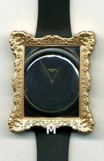 Swatch Watch Uhr X Fashion Designer Jeremy Scott Opulence Gold Frame