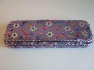 Artisan Colorful Gems Beads Mirrors Jewellery Trinkets Pens Storage