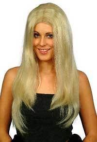 CHRISTINA long blonde wigs female fancy dress wig